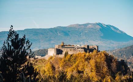 Die Burg Landskron, ein Ausflugsziel beim Urlaub am Ossiacher See