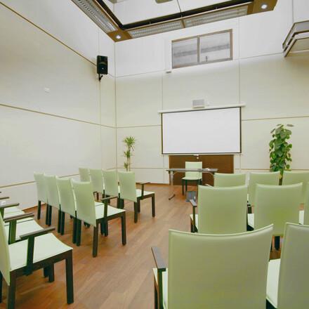 Ein ausgestatteter Seminarraum im 4-Sterne Hotel eduCARE in Treffen am Ossiacher See