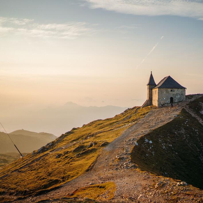 Ein kleines Haus am Berg in Villach Umgebung