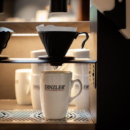 Die Kaffeemaschine im Hotel eduCARE in Treffen am Ossiacher See