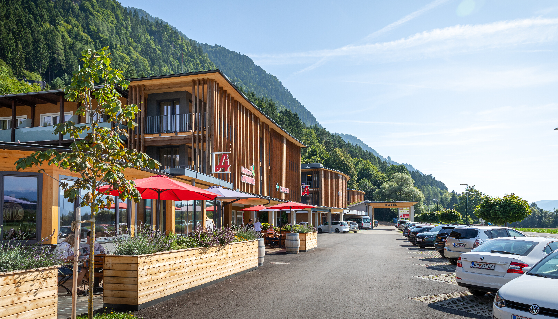 Hotel eduCARE bei Villach, nahe der Autobahn