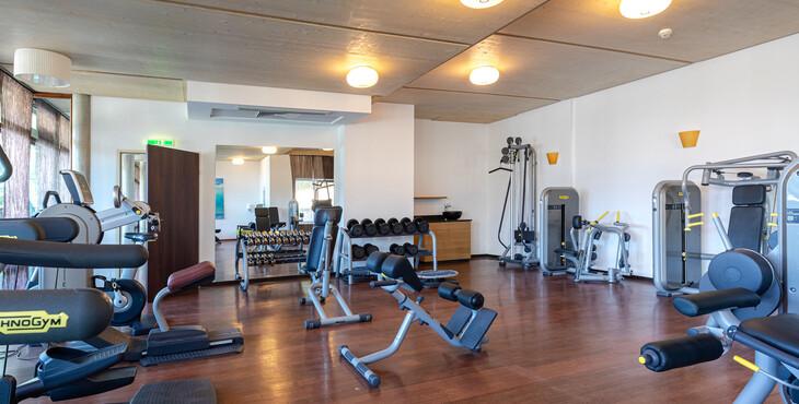 Der Fitnessraum im Hotel eduCARE als barrierefreies Ausflugsziel in Kärnten