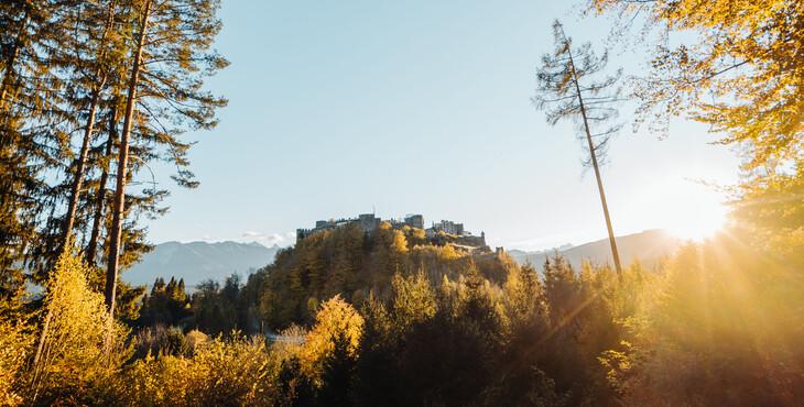 Die Burg Landskron, ein beliebtes Ausflugsziel beim Urlaub nahe Villach