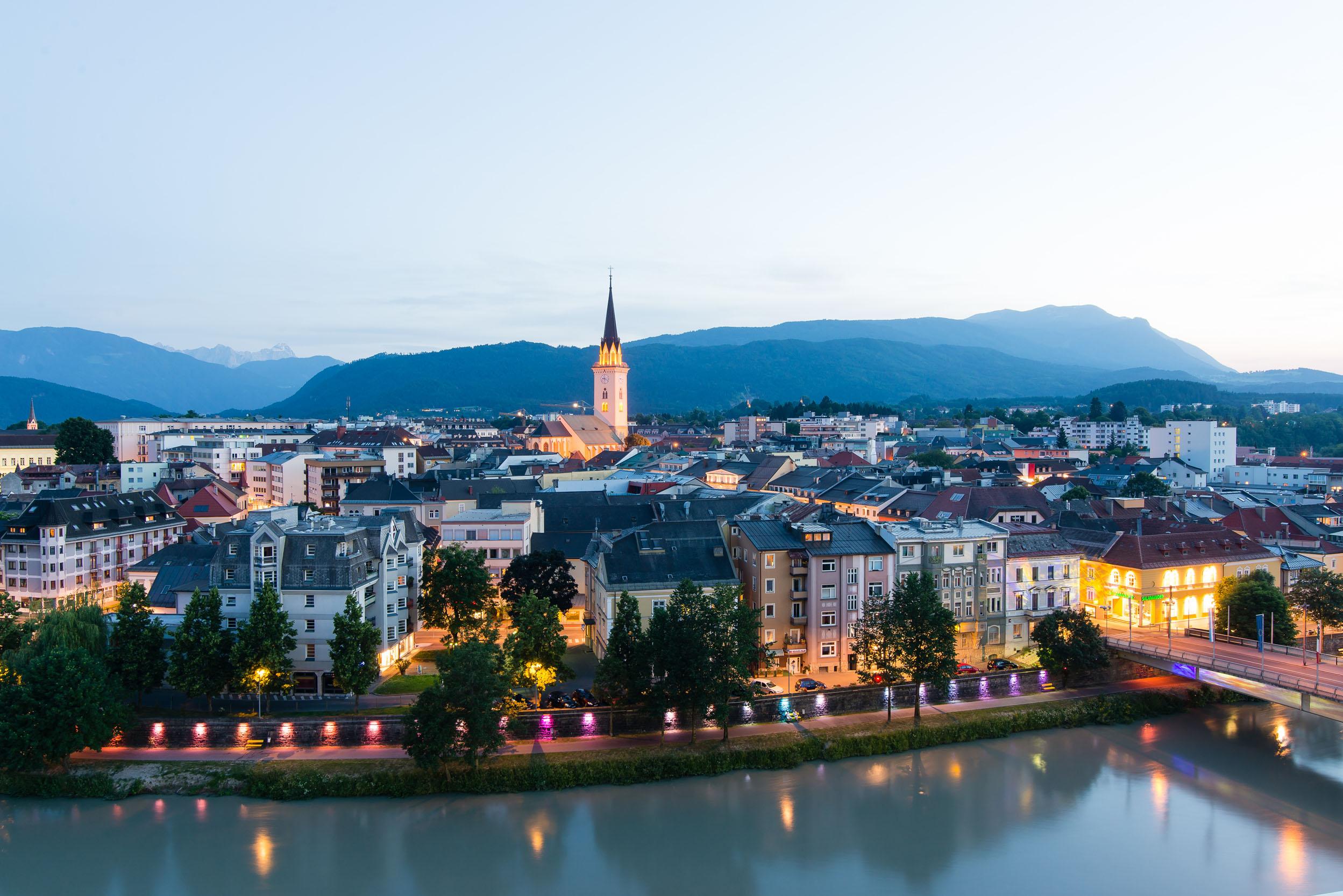 Die Stadt mit zahlreichen Ausflugszielen in Villach und Umgebung