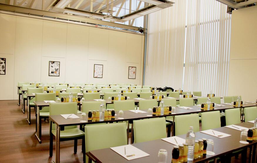 Einer der modernen Tagungsräume im Seminarhotel am Ossiacher See