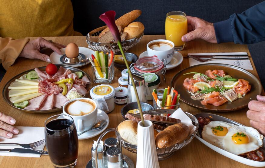 Das Frühstück im Hotel eduCARE in Treffen am Ossiacher See